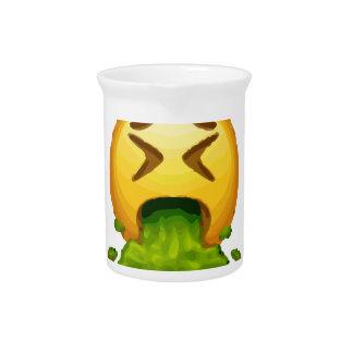 emoji puking pitcher