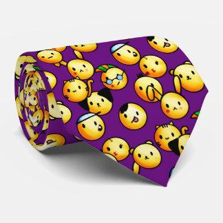 Emoji Purple Tie