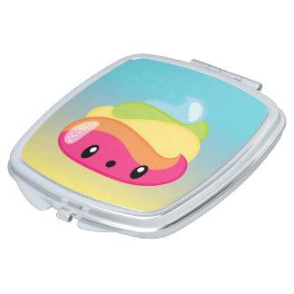 Emoji Raimbow Poop! Compact Mirror