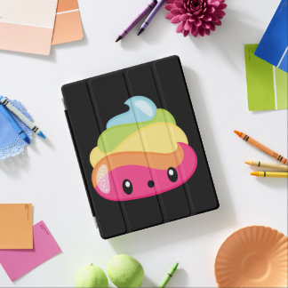 Emoji Raimbow Poop! iPad Cover