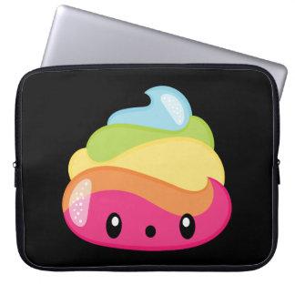 Emoji Raimbow Poop! Laptop Sleeve