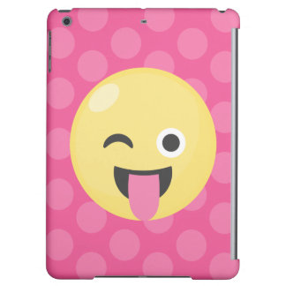 Emoji Silly Dots Cover For iPad Air