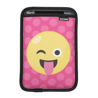 Emoji Silly Dots iPad Mini Sleeves