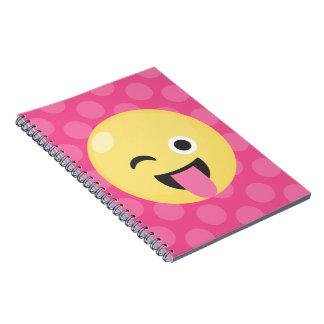 Emoji Silly Dots Notebook