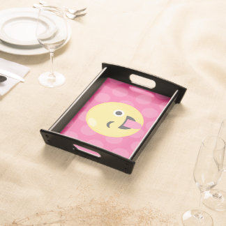 Emoji Silly Dots Serving Tray