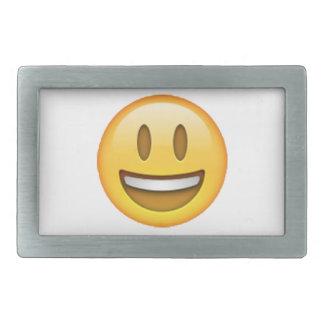 Emoji - Smile Open Eyes Belt Buckle