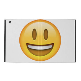 Emoji - Smile Open Eyes iPad Cover