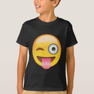Emoji - Smiley Face With Tongue T-Shirt