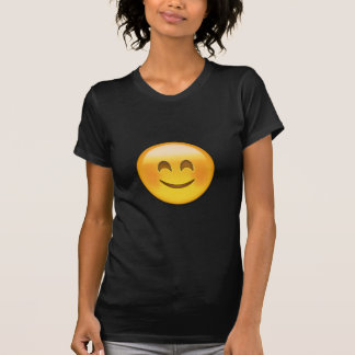 EMOJI SMILING FACE WITH SMILING EYES T SHIRTS