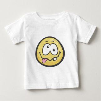 Emoji: Stupid Face Baby T-Shirt