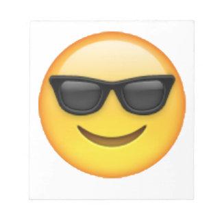 Emoji - Sunglasses Notepad