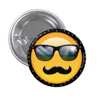 Emoji Super Shady ID230 1 Inch Round Button