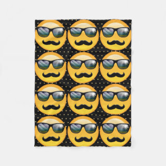 Emoji Super Shady ID230 Fleece Blanket