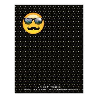 Emoji Super Shady ID230 Letterhead Template