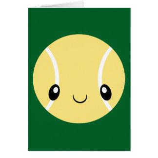 Emoji Tennis Ball Card