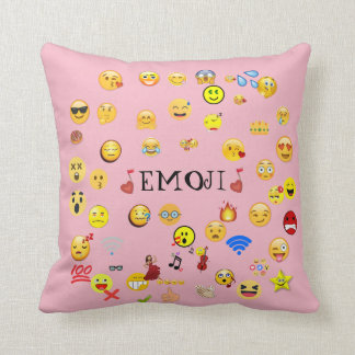 Throw Pillows Elegant : Emoji Decorative Pillows Zazzle.ca
