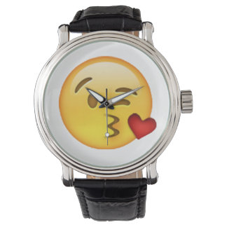 Emoji - Throwing Kiss Watch