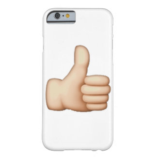 Emoji - Thumbs Up Barely There iPhone 6 Case