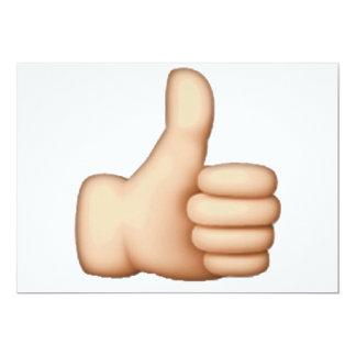 Emoji - Thumbs Up Card