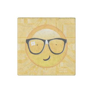 Emoji Totally Techie ID229 Stone Magnets