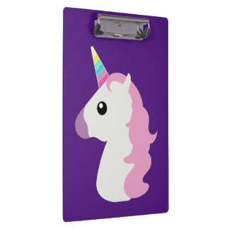 Emoji Unicorn Clipboard