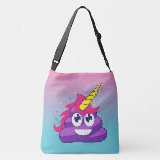 Emoji Unicorn Poop Hombre Bag