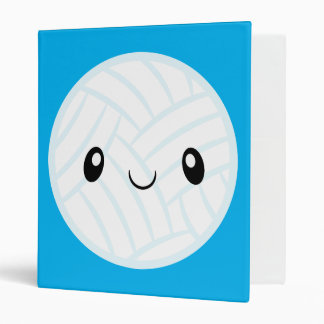 Emoji Volleyabll Binders
