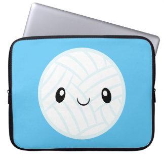 Emoji Volleyabll Laptop Sleeve