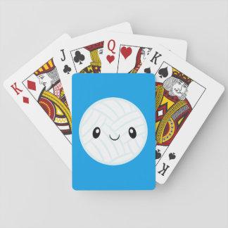 Emoji Volleyabll Playing Cards