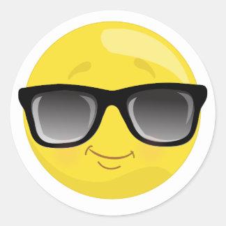 Emoji Wearing Sunglasses Stickers