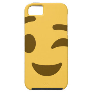 Emoji Wink iPhone 5 Cases
