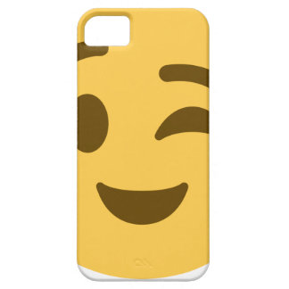 Emoji Wink iPhone 5 Covers