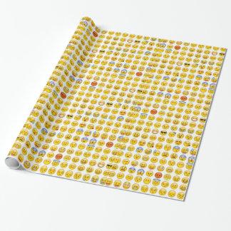 emoji wrapping paper