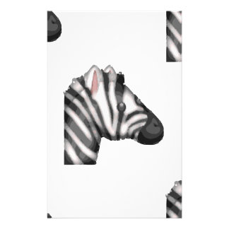 emoji zebra stationery