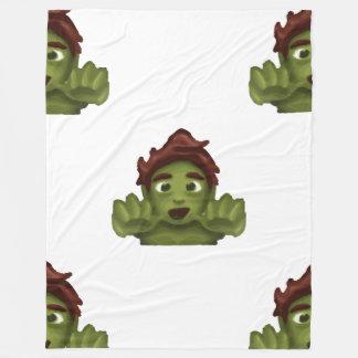 emoji zombie man blanket