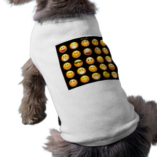 emojis noirs vêtement pour animal domestique