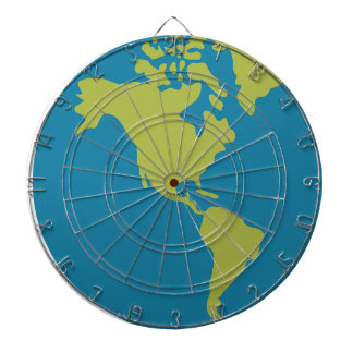 Emojis Planet Earth World Continents Designs Dartboard
