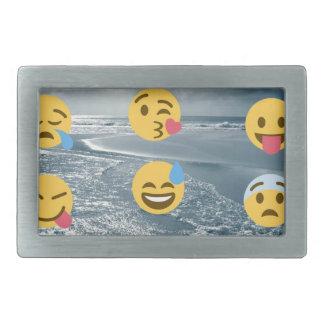 Emojis Rectangular Belt Buckle