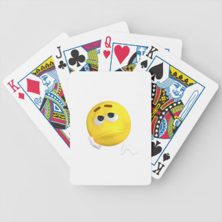 emoticon-1634515 bicycle playing cards