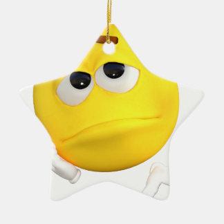 emoticon-1634515 ceramic star ornament