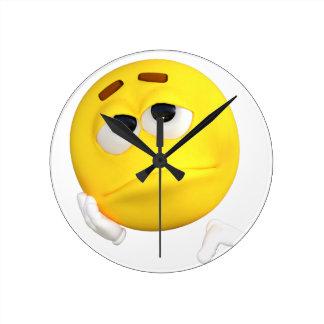 emoticon-1634515 round clock