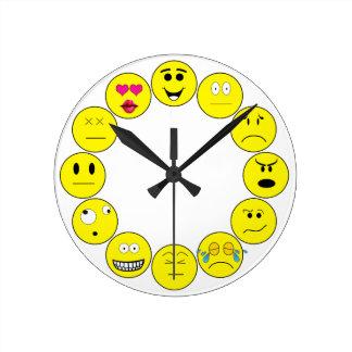 EMOTICON CLOCK