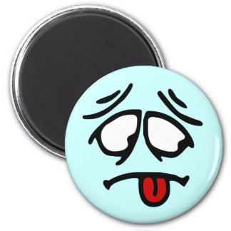 Emoticon Customizable Background Magnet