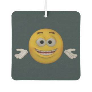 Emoticon _ Don't worry, be happy. Animation style Air Freshener