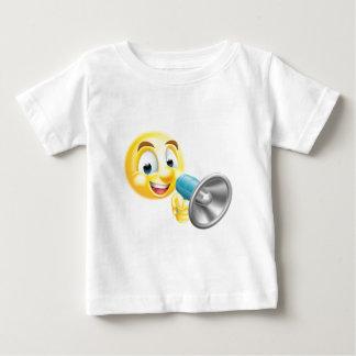 Emoticon Emoji Holding Mega Phone Baby T-Shirt