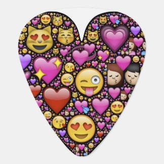 Emoticon Heart Guitar Pick