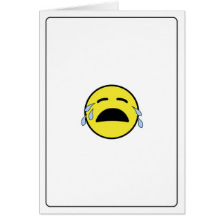 Emoticon - I'm Sorry! Card