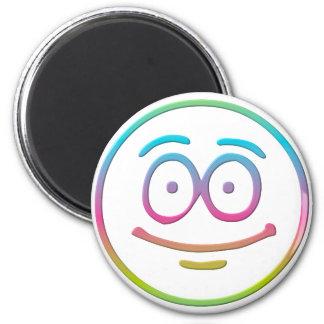 """Emoticon """"Me, Happy!"""" Magnet"""