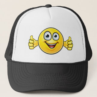 Emoticon Thumbs Up Icon Trucker Hat
