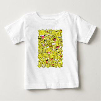 Emoticons Baby T-Shirt